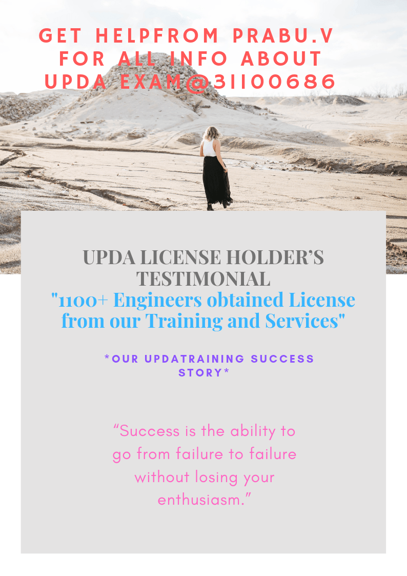 upda license holders testimonials
