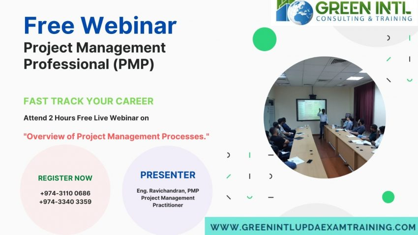 webinar overview of project management, pmp exam preparation