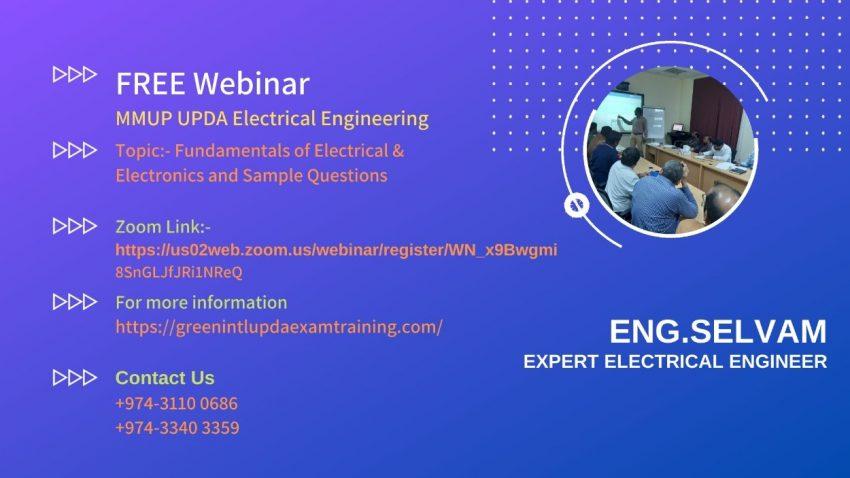 webinar mmup upda electrical