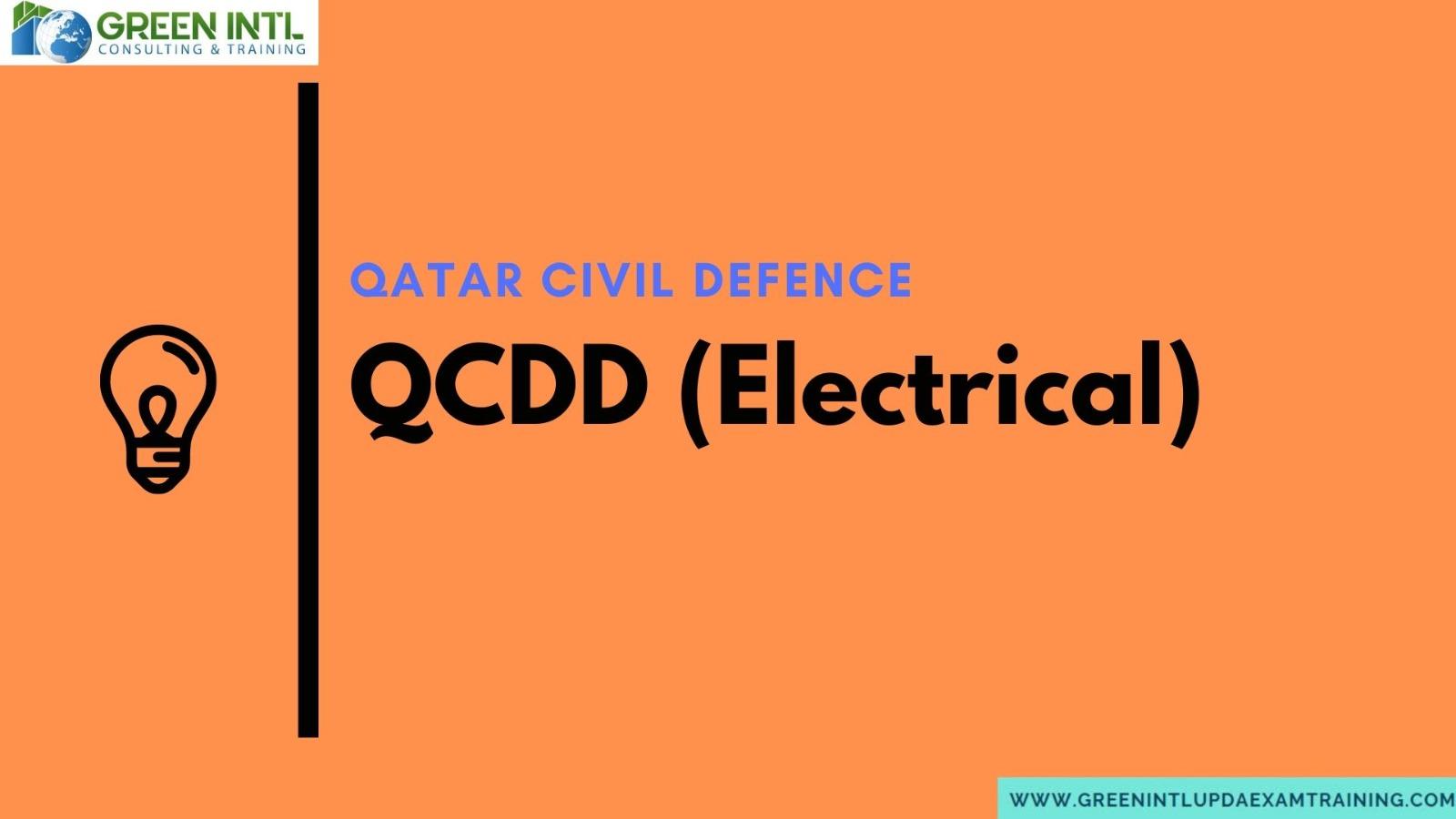 qcdd exam best training center